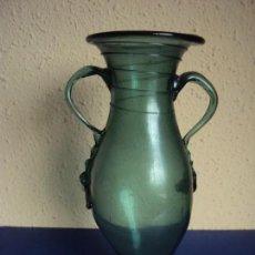 Antigüedades: (ANT-190401) JARRON CRISTAL SOPLADO MALLORQUIN. Lote 158113510