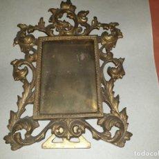 Antigüedades: PORTAFOTOS BRONCE. Lote 158122830