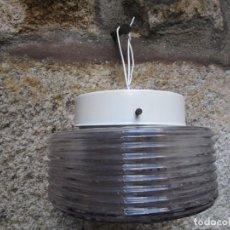 Antigüedades: APLIQUE LAMPARA DE TECHO PARED PEANA, DE LOS 60/70'S, REVISADO, PARA INSTALAR 20CM DIAMETRO+ INFO 1S. Lote 158139522