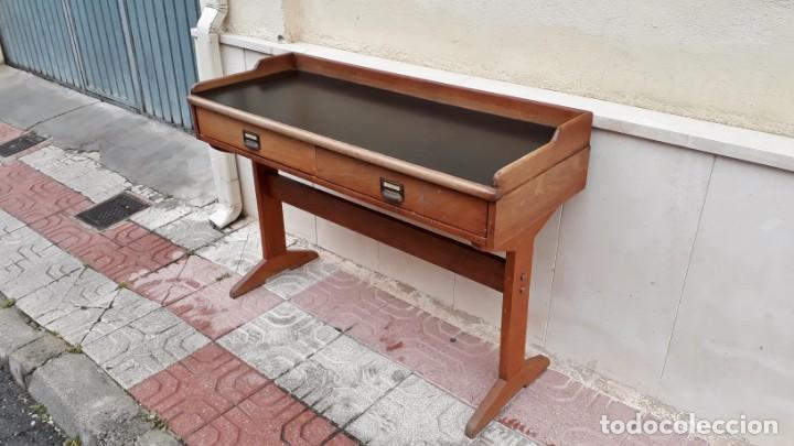 Antigüedades: Escritorio antiguo vintage estilo danés estilo industrial Mesa escritorio estilo nórdico escandinavo - Foto 8 - 158161966