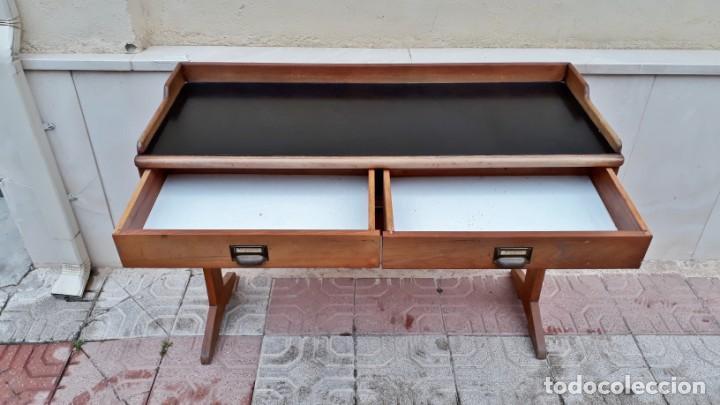 Antigüedades: Escritorio antiguo vintage estilo danés estilo industrial Mesa escritorio estilo nórdico escandinavo - Foto 11 - 158161966