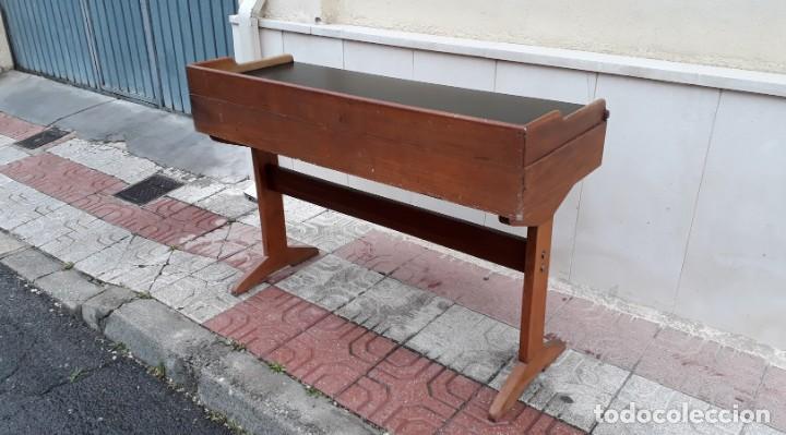 Antigüedades: Escritorio antiguo vintage estilo danés estilo industrial Mesa escritorio estilo nórdico escandinavo - Foto 14 - 158161966