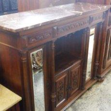 Antigüedades: APARADOR ANTIGUO DE NOGAL.. Lote 158203698
