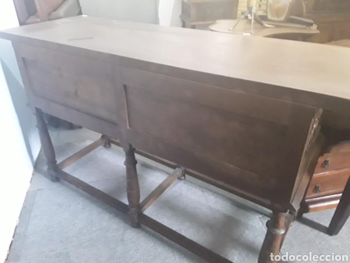 Antigüedades: Mesa aparador de nogal - Foto 3 - 158223822