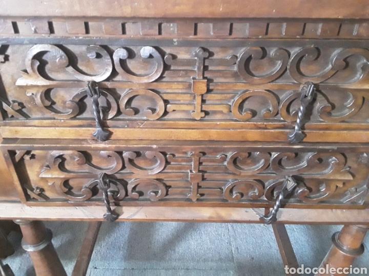Antigüedades: Mesa aparador de nogal - Foto 5 - 158223822