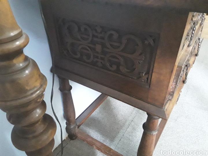 Antigüedades: Mesa aparador de nogal - Foto 6 - 158223822