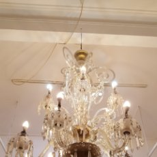 Antigüedades: LAMPARA BACCARAT. Lote 158235772