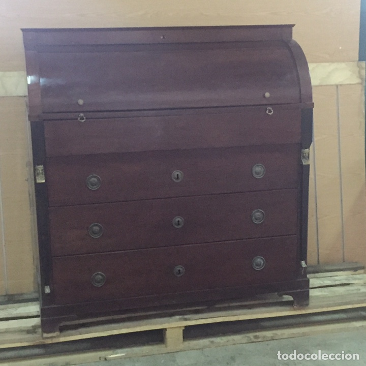 Antigüedades: Buró escritorio estilo inglés - Foto 4 - 158248128