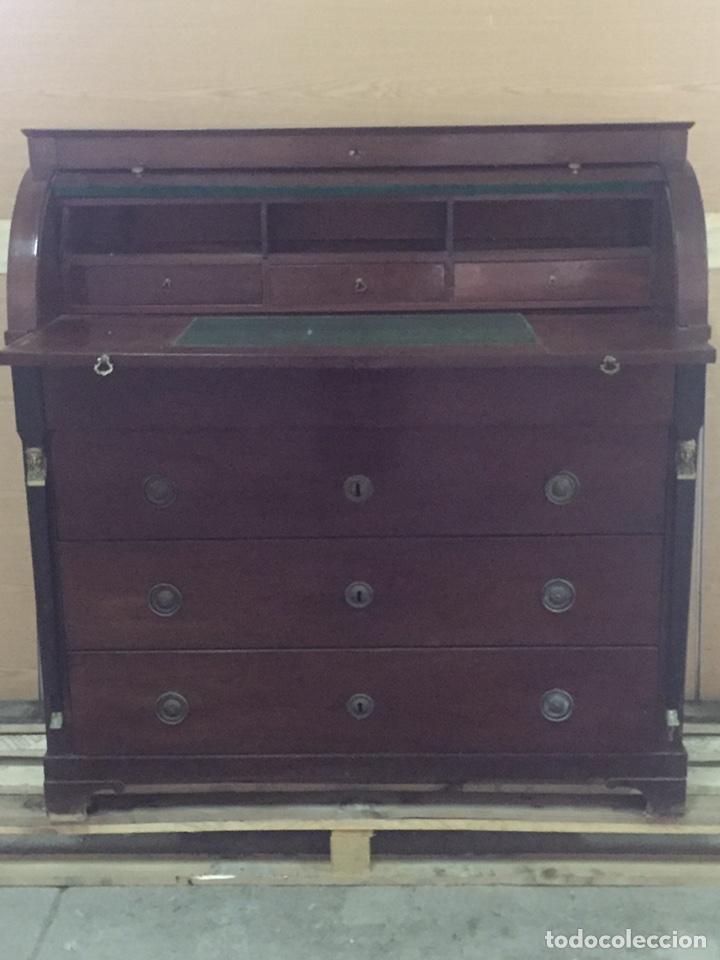 Antigüedades: Buró escritorio estilo inglés - Foto 5 - 158248128