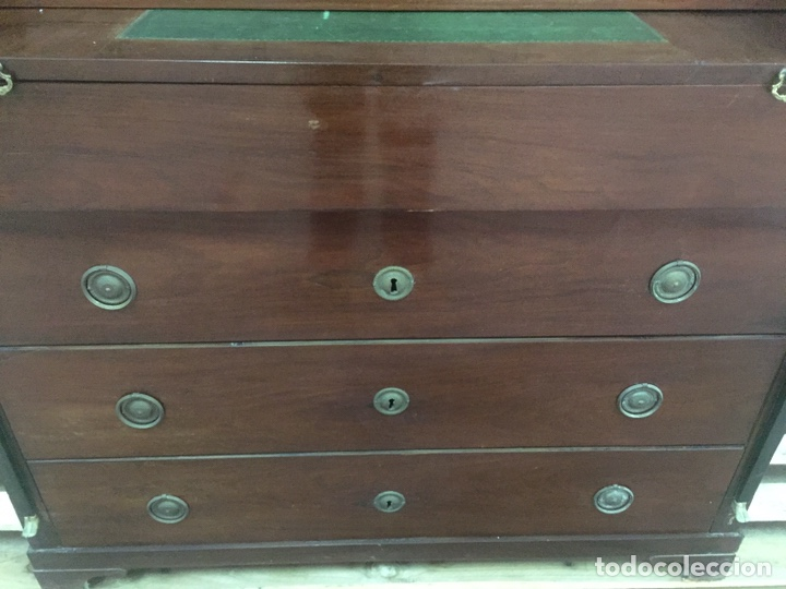 Antigüedades: Buró escritorio estilo inglés - Foto 31 - 158248128