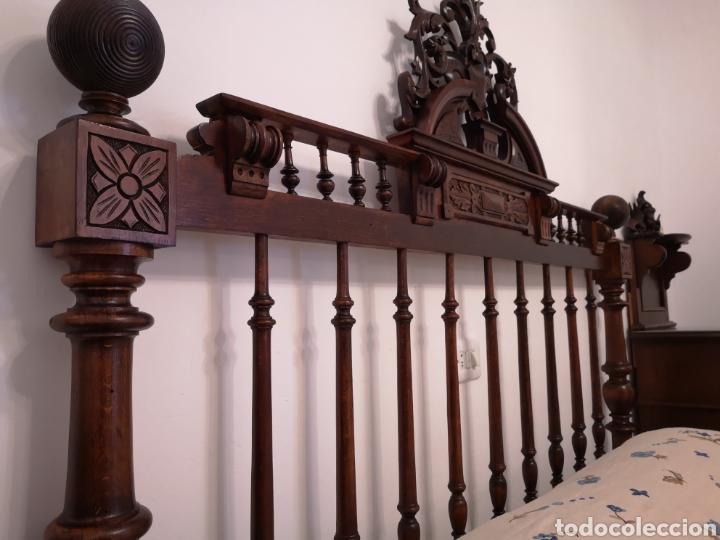 Antigüedades: Habitación cama1.35 Alfonsina, mesitas y cómoda - Foto 2 - 158303726