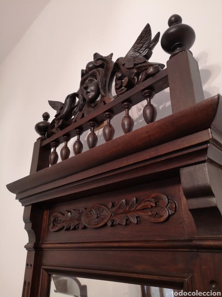 Antigüedades: Habitación cama1.35 Alfonsina, mesitas y cómoda - Foto 9 - 158303726