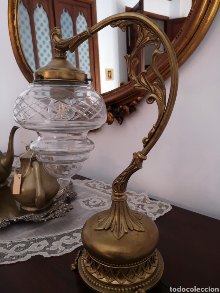 Antigüedades: Lámpara sobremesa - Foto 2 - 158311870