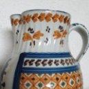 Antigüedades: JARRA CERAMICA TALAVERA VIRGEN DEL PRADO PETRA S XIX. Lote 158380254