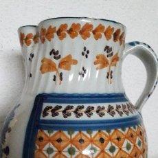 Antigüedades: JARRA CERAMICA TALAVERA VIRGEN DEL PRADO S XIX. Lote 158380254
