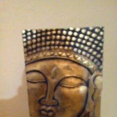 Antigüedades: FIGURA DE BUDA DE MADERA TALLADA. Lote 158513566