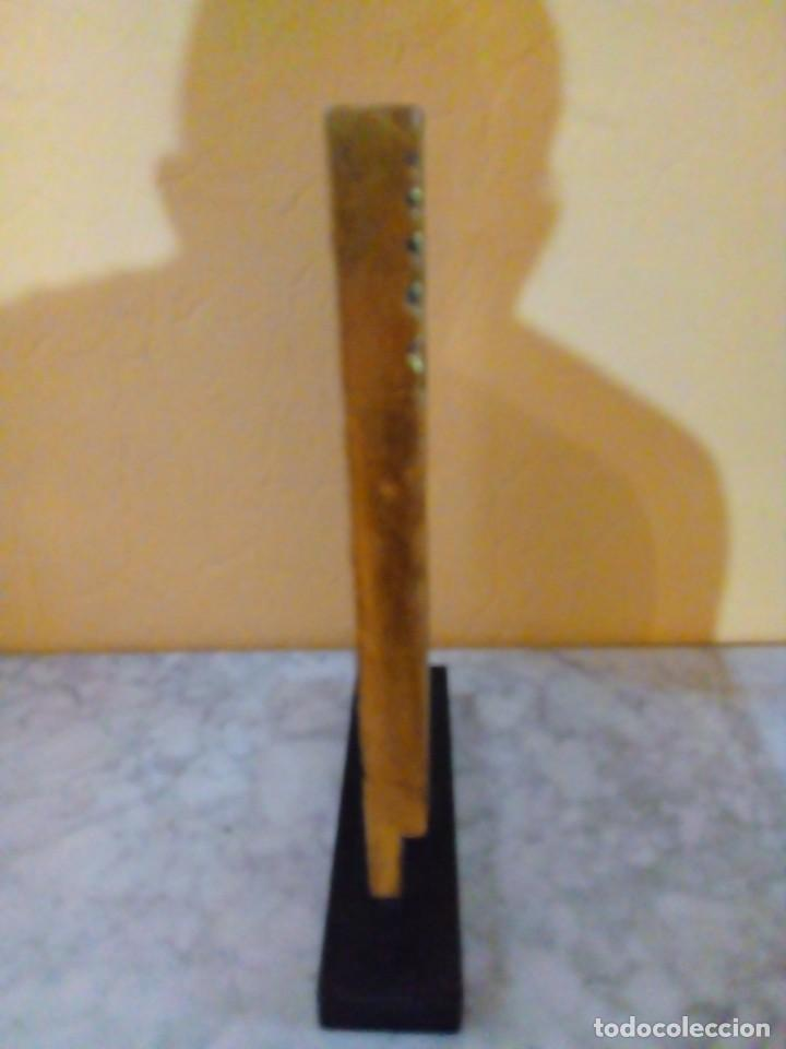 Antigüedades: FIGURA DE BUDA DE MADERA TALLADA - Foto 2 - 158513566
