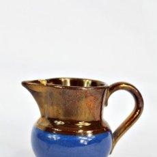 Antigüedades: REF 2 JARRA DE BRISTOL LUSTRE INGLATERRA S XIX MEDIDAS 6 CM DE ALTURA 8 CM DE PICO A OREJA. Lote 158513898