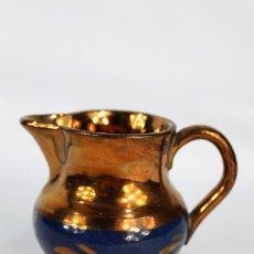 Antigüedades: REF 4 JARRA DE BRISTOL LUSTRE INGLATERRA S XIX MEDIDAS 6 CM DE ALTURA 8 CM DE PICO A OREJA. Lote 158514054