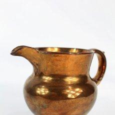 Antigüedades: REF 9 JARRA DE BRISTOL LUSTRE INGLATERRA S XIX MEDIDAS 10 CM DE ALTURA 12 CM DE PICO A OREJA. Lote 158515586