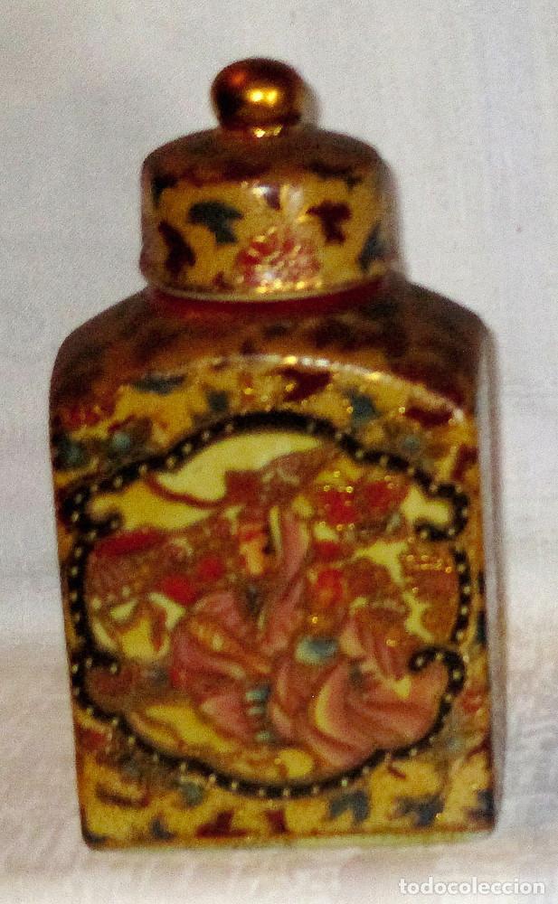 TIBOR DE CERAMICA - CHINA (Antigüedades - Porcelanas y Cerámicas - China)