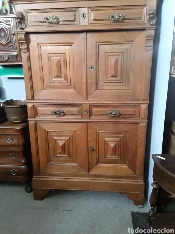 Antigüedades: Mueble de roble antiguo - Foto 2 - 158551869