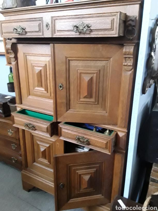 Antigüedades: Mueble de roble antiguo - Foto 3 - 158551869