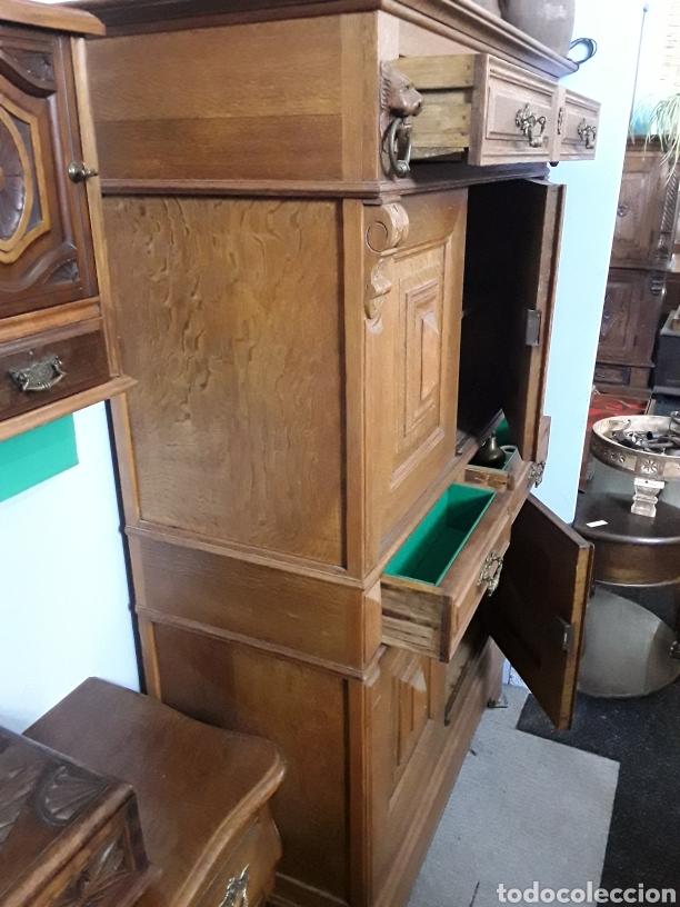 Antigüedades: Mueble de roble antiguo - Foto 4 - 158551869