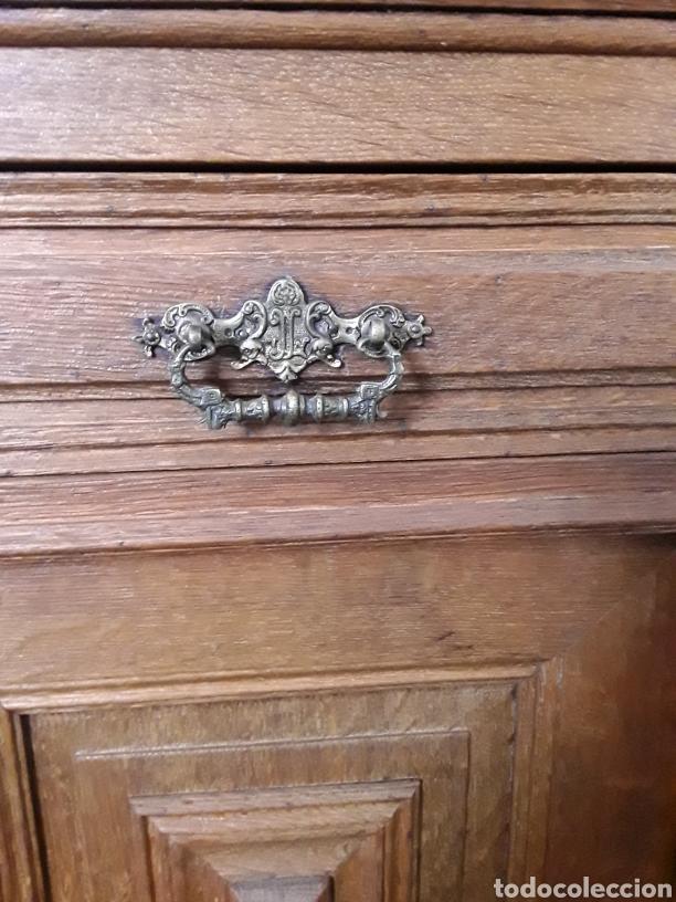 Antigüedades: Mueble de roble antiguo - Foto 5 - 158551869