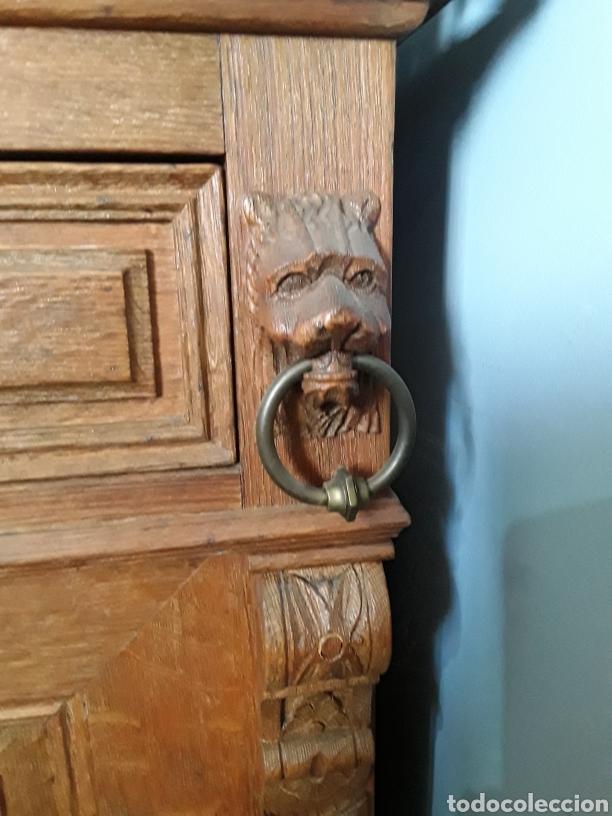 Antigüedades: Mueble de roble antiguo - Foto 6 - 158551869