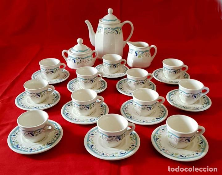 Antigüedades: JUEGO CAFE SAN CLAUDIO PRELUDIO, 12 servicios, nuevo - Foto 2 - 158600810