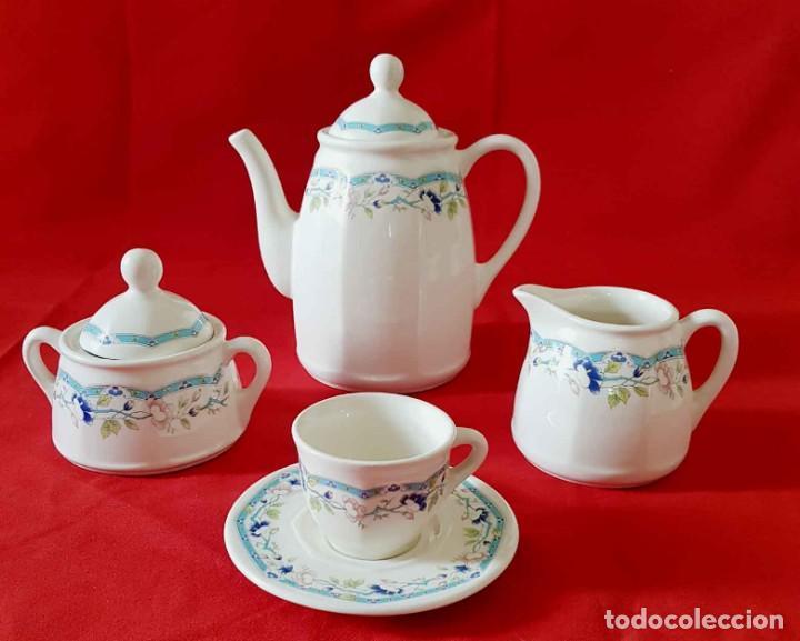 Antigüedades: JUEGO CAFE SAN CLAUDIO PRELUDIO, 12 servicios, nuevo - Foto 4 - 158600810