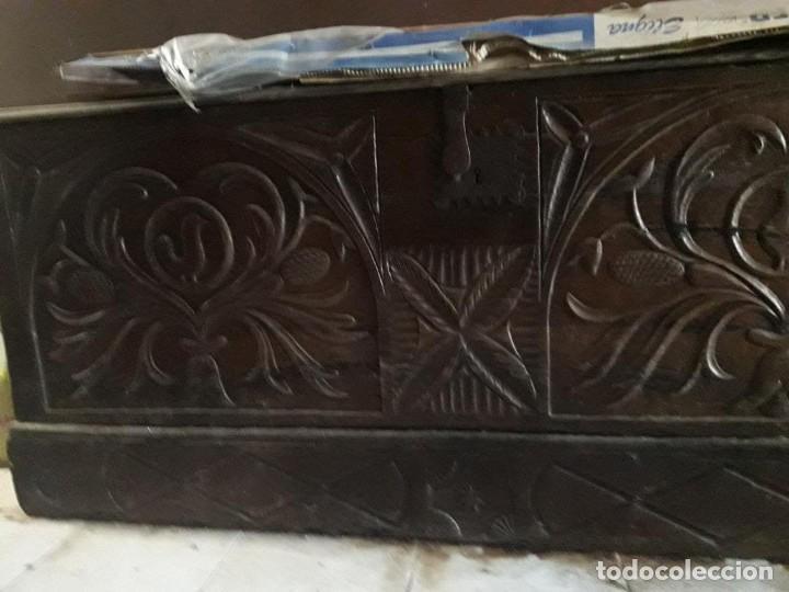 Antigüedades: baul - Foto 2 - 158605342