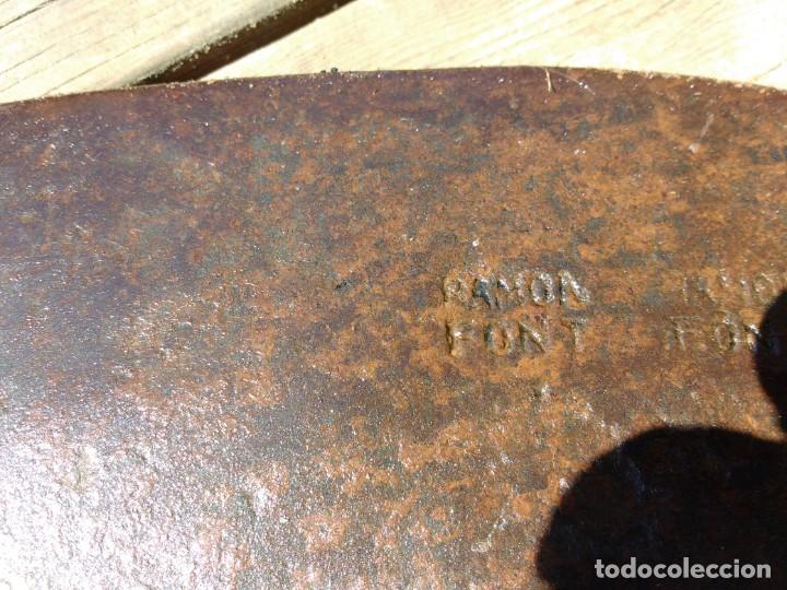 Antigüedades: hacha de bosqueté - Foto 5 - 158606018