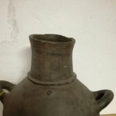 Antigüedades: CANTARO DE BARRO MUY BONITO Y ANTIGUO. Lote 158651080