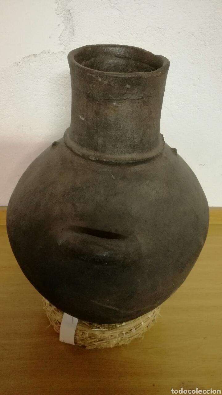 Antigüedades: Cantaro de barro muy bonito y antiguo - Foto 2 - 158651080