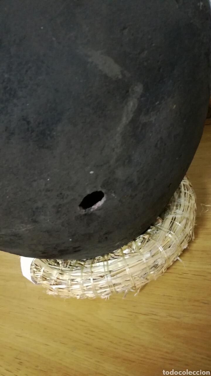 Antigüedades: Cantaro de barro muy bonito y antiguo - Foto 3 - 158651080