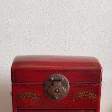 Antigüedades: CAJA DE MADERA JAPONESA. Lote 158695918