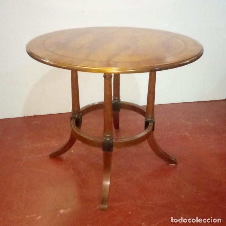 MESA AUXILIAR SEGUNDA MITAD SIGLO XX (Antigüedades - Muebles Antiguos - Mesas Antiguas)