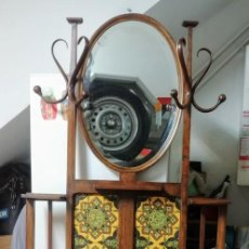 Antigüedades: MUEBLE RECIBIDOR PERCHERO THONET. Lote 158728034