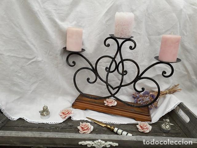 CANDELABRO (Antigüedades - Iluminación - Candelabros Antiguos)