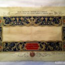 Antigüedades: GRABADO S.XIX SÁBANA SANTA DE TURÍN. REGALO A INVITADOS ENLACE REAL DE VICTOR MANUEL III DE SABOYA. Lote 158746030