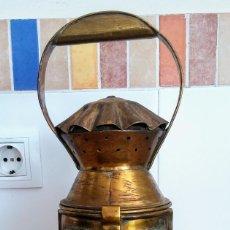 Antigüedades: FAROL FERROVIARIO. Lote 158752750