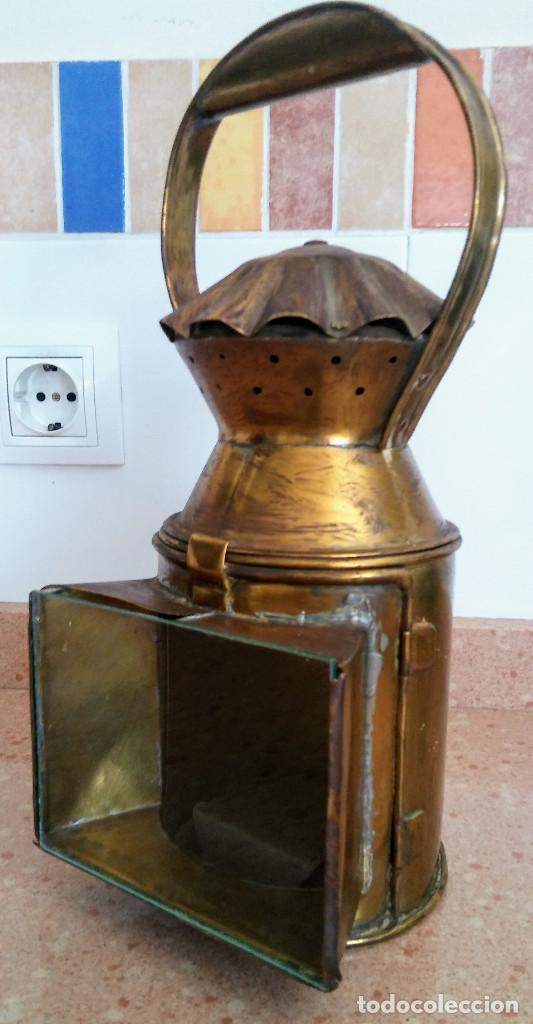 Antigüedades: FAROL FERROVIARIO - Foto 2 - 158752750