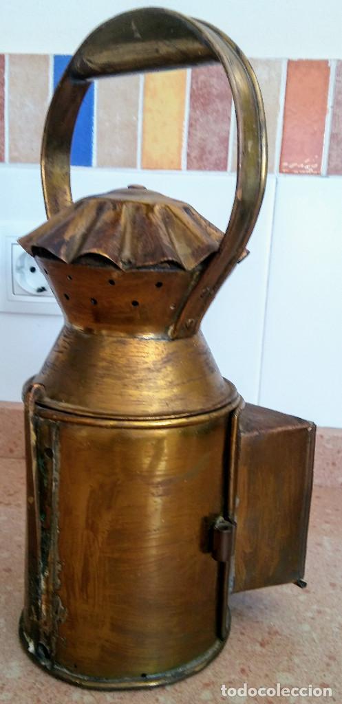 Antigüedades: FAROL FERROVIARIO - Foto 3 - 158752750