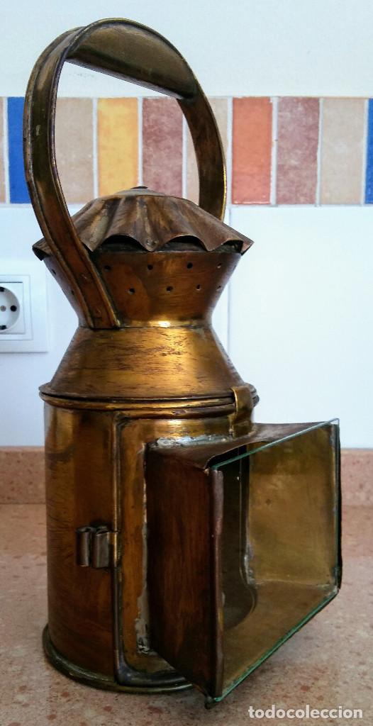 Antigüedades: FAROL FERROVIARIO - Foto 4 - 158752750