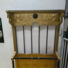 Antigüedades: MUEBLE RECIBIDOR, PARAGUERO, SOMBRERERO PARA RESTAURAR. Lote 158796714