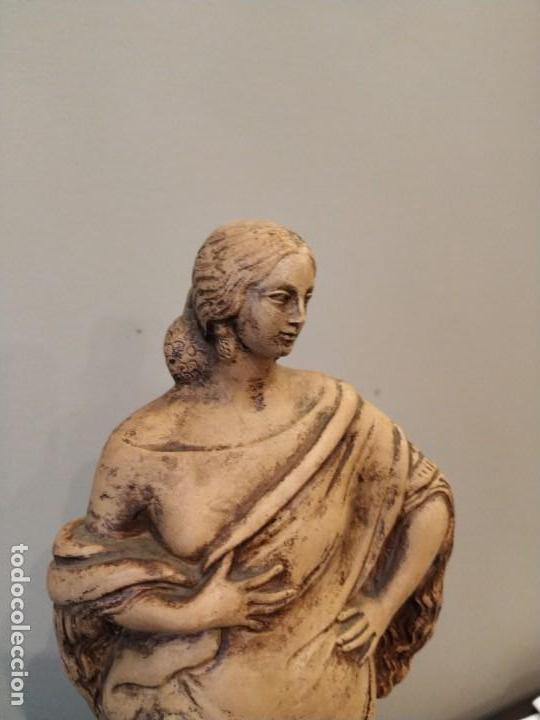 Antigüedades: FIGURA GITANA - POSIBLE ANTONIO GARRIGOS - EN TERRACOTA - SELLO VILA ALBACETE - MUSEO COLECCIONISTA - Foto 2 - 158821458
