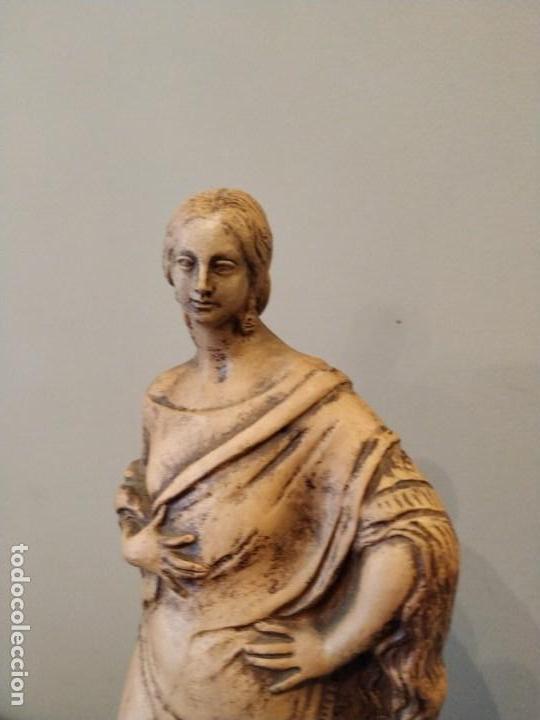 Antigüedades: FIGURA GITANA - POSIBLE ANTONIO GARRIGOS - EN TERRACOTA - SELLO VILA ALBACETE - MUSEO COLECCIONISTA - Foto 3 - 158821458