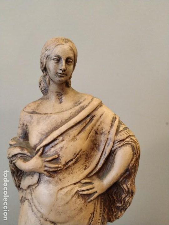 Antigüedades: FIGURA GITANA - POSIBLE ANTONIO GARRIGOS - EN TERRACOTA - SELLO VILA ALBACETE - MUSEO COLECCIONISTA - Foto 4 - 158821458
